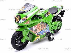 Инерционный мотоцикл «Сказочные персонажи», 909-8