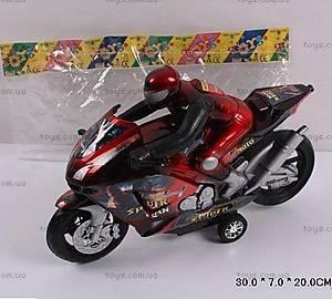 Инерционный мотоцикл «Спайдермен», HR686-6