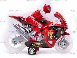 Инерционный мотоцикл Spiderman, HR638-6, отзывы