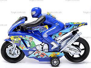 Инерционный мотоцикл «Спорт», HR686-10, фото