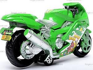 Инерционный мотоцикл «Спортбайк», 2093, отзывы