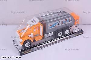 Инерционный мусоровоз Garbage Truck, BB636-2
