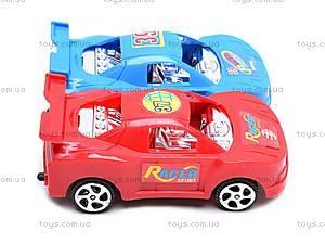 Инерционный трейлер с четырьмя машинами, HY8756-11, детские игрушки