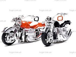 Инерционный трейлер с двумя мотоциклами, 2010-9, игрушки