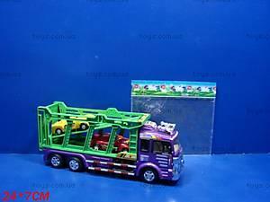 Инерционный трейлер, с машинами, 1033A