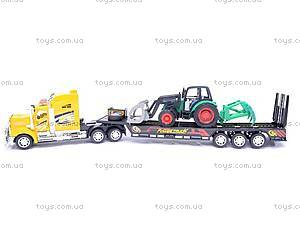 Инерционный трейлер с трактором, 9080-2A