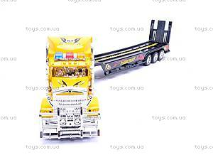 Инерционный трейлер с трактором, 9080-2A, цена