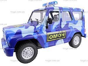 Инерционный внедорожник «ОМОН», 9122-C, игрушки
