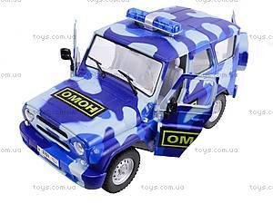 Инерционный внедорожник «ОМОН», 9122-C, детские игрушки