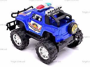 Инерционный внедорожник «Полиция», 906, игрушки