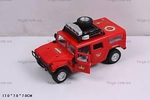 Инерционный внедорожник Rally красный, 9100D