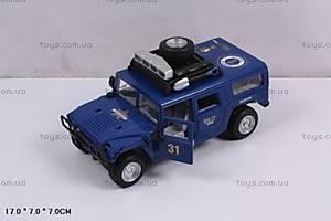 Инерционный внедорожник Rally синий, 9100E