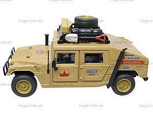 Инерционный внедорожник «Военный», 9100-A, игрушки