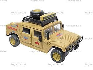 Инерционный внедорожник «Военный», 9100-A, магазин игрушек
