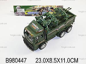 Инерционный военный грузовик, 3006