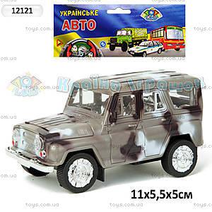 Инерционый УАЗ «ОМОН», 12121