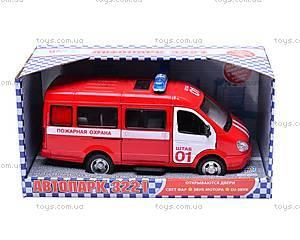 Инерциоонный микроавтобус «Пожарная охрана», 9098-A, цена