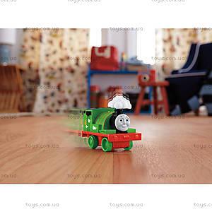 Инерционный паровозик «На всех парах» серии «Томас и друзья», DGK99, фото
