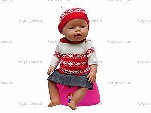 Интерактивная детская кукла Baby Doll, 058-M