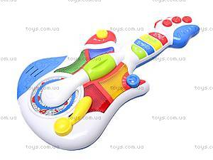 Интерактивная гитара, WD3646, детские игрушки