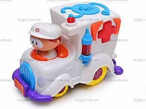 Интерактивная игрушка «Скорая помощь», BE2002