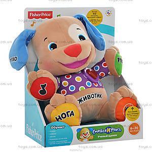 Интерактивная игрушка «Умный щенок» Fisher-Price, BGY23