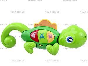 Интерактивная игрушка «Веселый хамелеон», 0952, отзывы