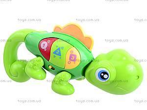 Интерактивная игрушка «Веселый хамелеон», 0952, детские игрушки