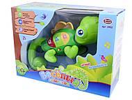 Интерактивная игрушка «Веселый хамелеон», 0952