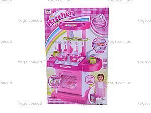 Интерактивная кухня, 008-58, детские игрушки