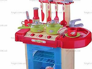 Интерактивная кухня, с посудой, 008-58A, фото