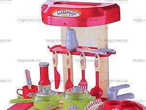 Интерактивная кухня, с посудой, 008-58A, отзывы