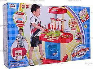 Интерактивная кухня, с посудой, 008-58A, цена