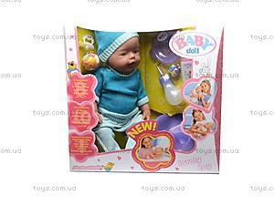 Интерактивная кукла Baby Doll, 058F, детские игрушки