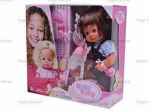 Интерактивная кукла Baby Toby, 30700E6, цена