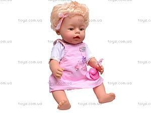 Интерактивная кукла «Лялечка», 30667-23