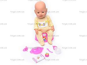 Интерактивная кукла-пупс Baby Doll, 8001-2