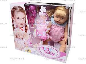 Интерактивная кукла-пупс «Baby Toby», 30712B1