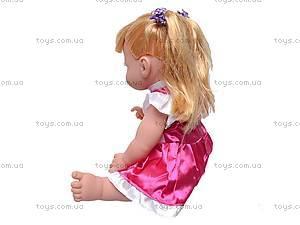 Интерактивная кукла «Умняша» со звуковым чипом, 60884BLS-R, купить