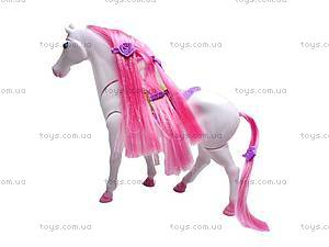 Интерактивная лошадь, с аксессуарами, 53486, фото