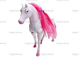 Интерактивная лошадь, с аксессуарами, 53486