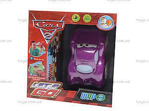 Интерактивная машина «Тачки», 767-355K, магазин игрушек