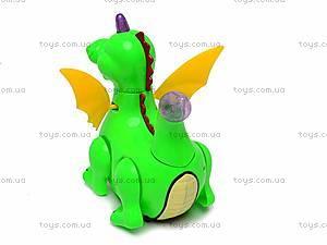 Интерактивная музыкальная игрушка «Дракоша», QS12-2C, купить