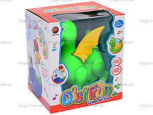 Интерактивная музыкальная игрушка «Дракоша», QS12-2C, игрушки