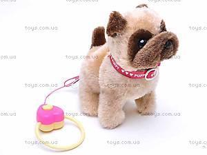 Интерактивная собака на поводке, 9118D1