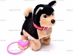Интерактивная собака с поводком, 9119E1