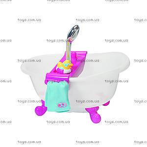 Интерактивная ванночка Baby Born «Забавное купание», 818183