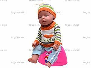 Интерактивный детский пупс Baby Doll, 058-Q