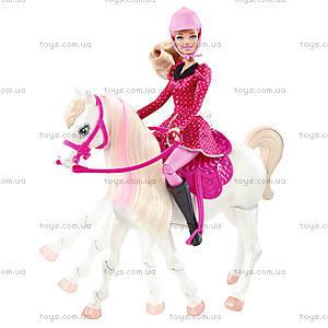 Интерактивный набор Барби с лошадью «Барби в сказке про пони», Y6858, купить