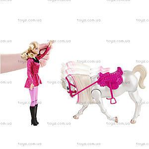 Интерактивный набор Барби с лошадью «Барби в сказке про пони», Y6858, фото